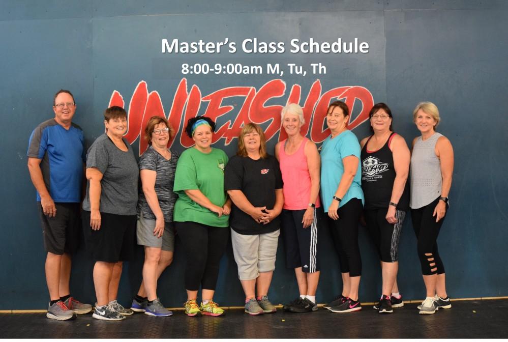 Masters Schedule